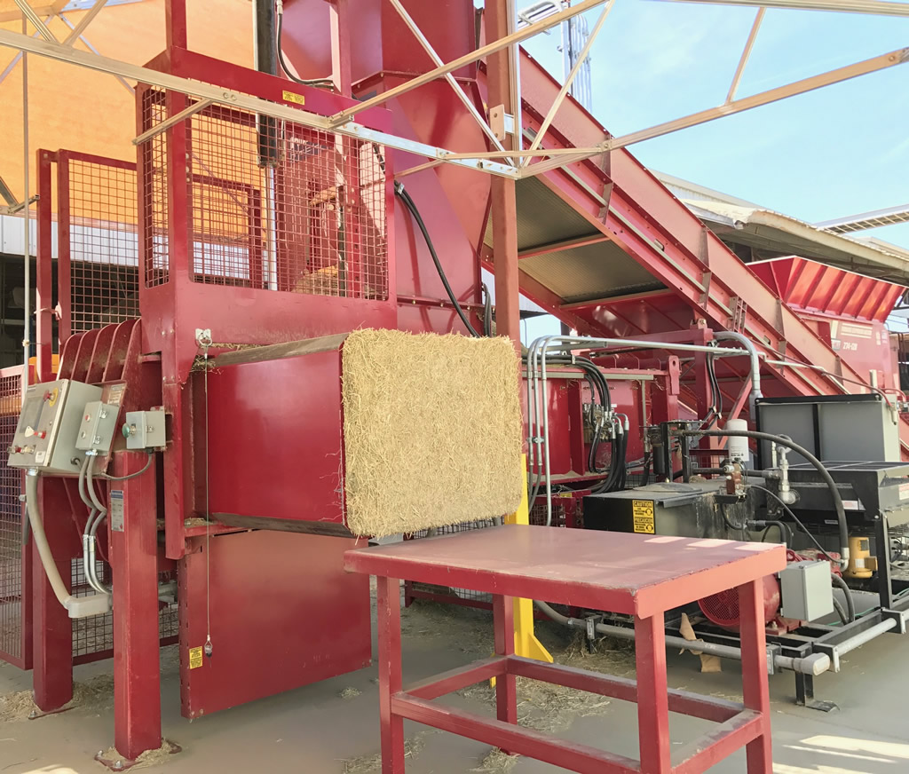 Hunterwood Chaff Press
